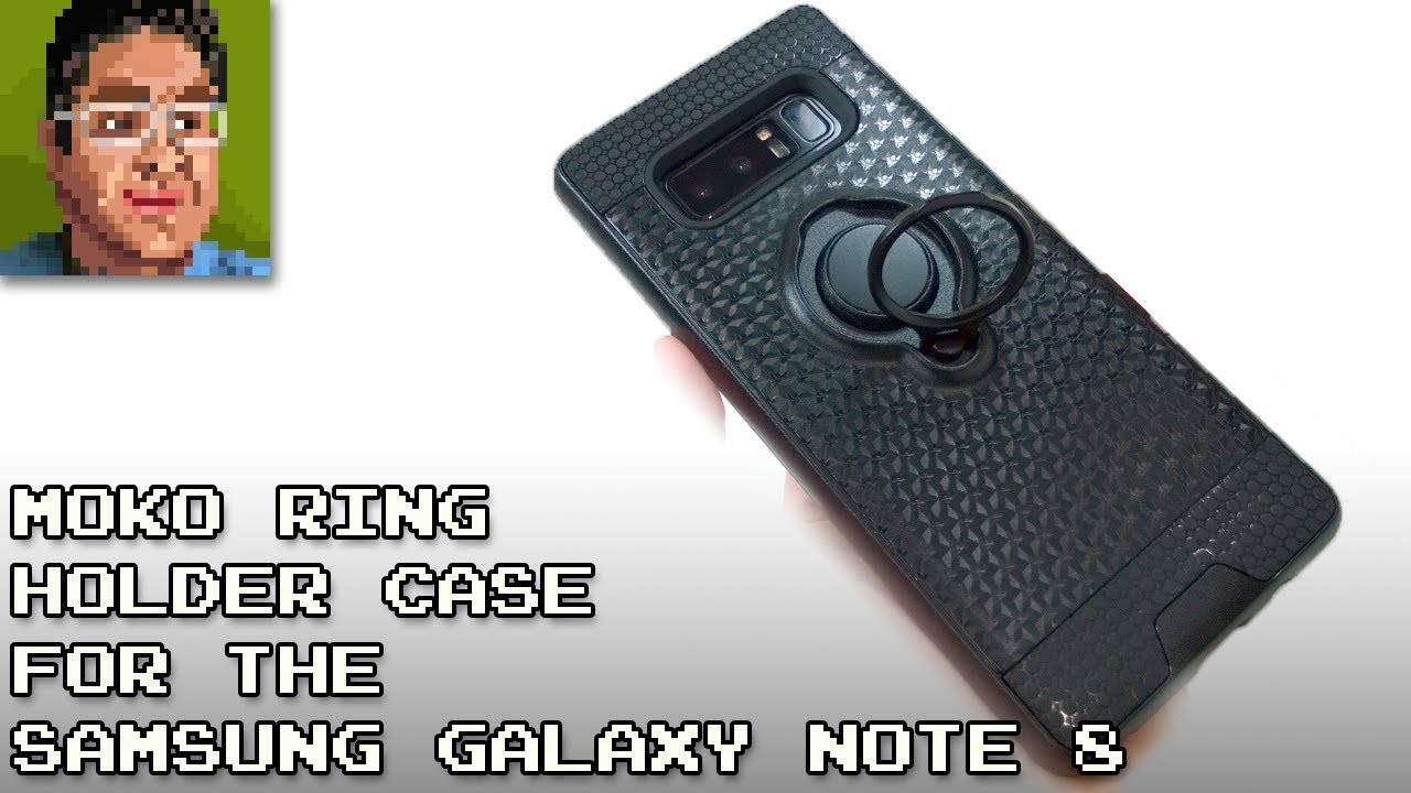 san francisco bfd69 05c28 Moko Ring Clip Holder Case for the Samsung Galaxy Note 8 Case Review