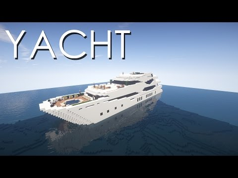 Minecraft - Yacht Tutorial
