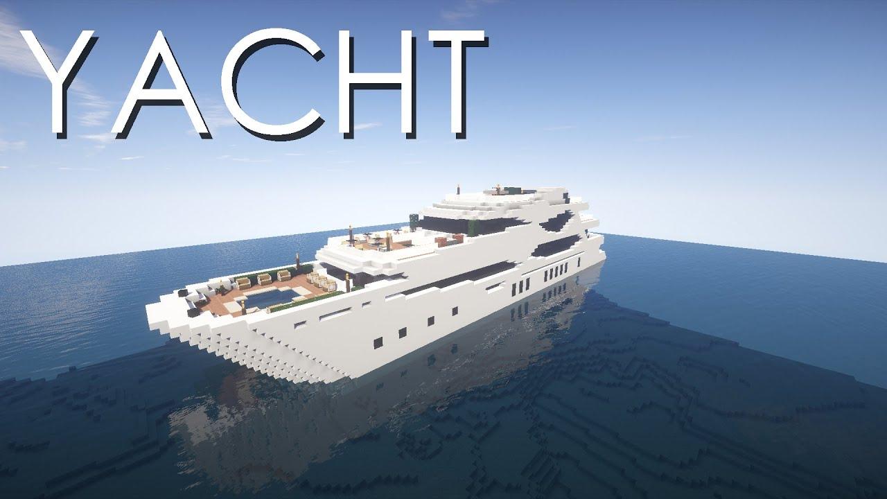 Minecraft Yacht Tutorial