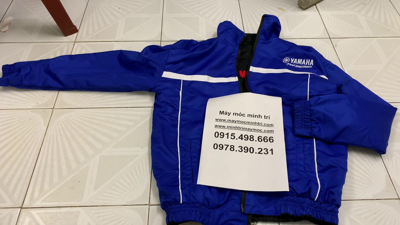 áo khoác yamaha 2 mặt minh trí