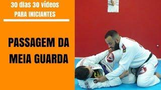 Passagem da meia guarda - surpreenda o guardeiro que está na meia guarda - brazilian jiu-jitsu