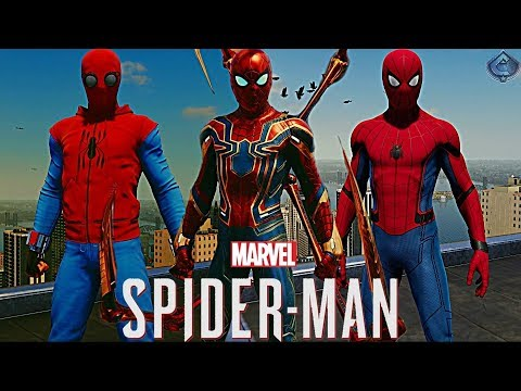 Spider-Man PS4 - How to Unlock ALL MCU...