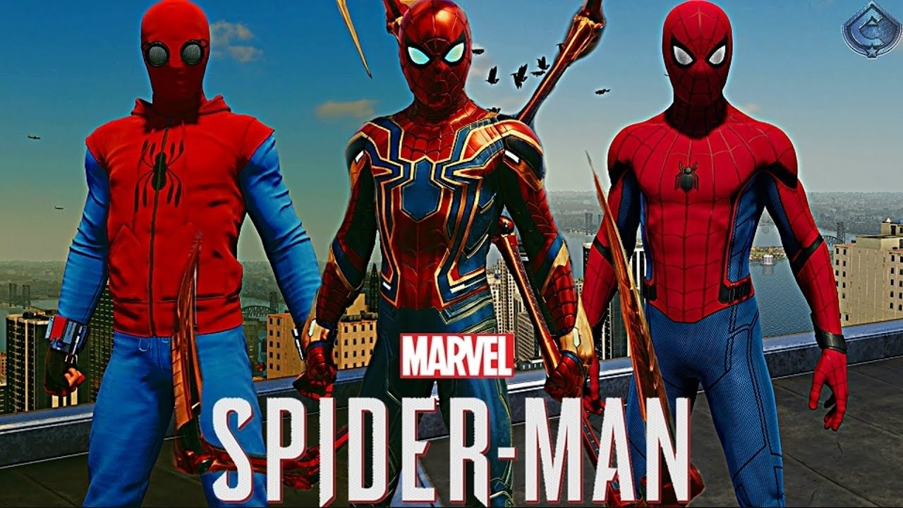 spider-man ps4 - how to unlock all mcu suits! - youtube