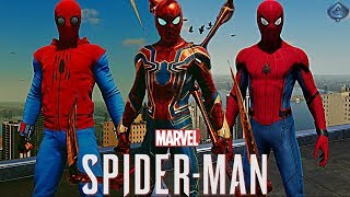Spider-Man PS4 - How to Unlock ALL MCU Suits!