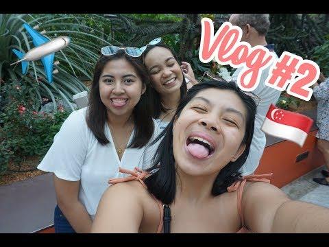 VLOG 2: Singapore Travel Vlog + Fail In my feelings challenge in the merlion