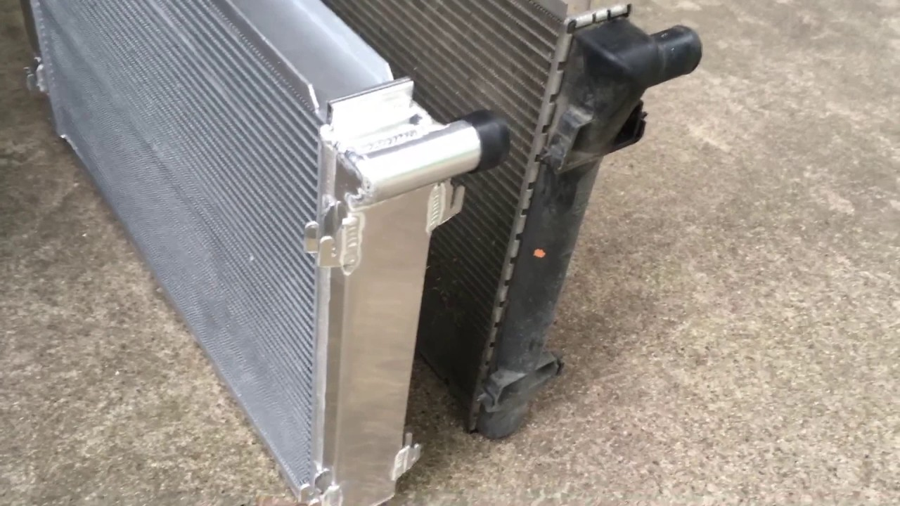 hight resolution of c5 corvette ecp radiator review