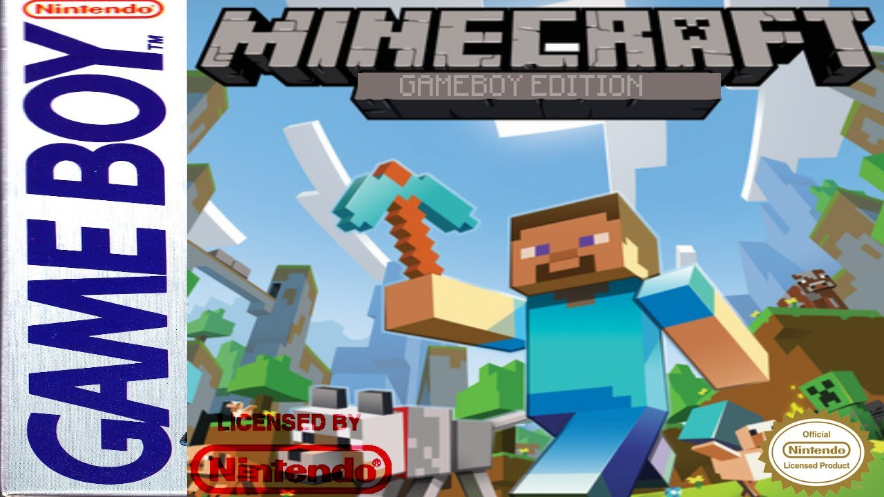 Minecraft Gameboy Edition YouTube - Minecraft spiele original