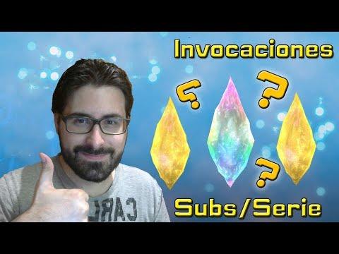 Final fantasy brave exvius:Invocaciones/Pulls  Subs