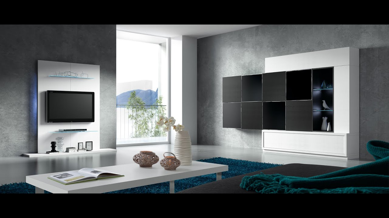 Muebles Tv Colgados Panel Tv 01 Baixmoduls Youtube