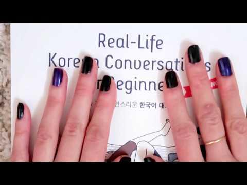[Book Review] Korean Real Life Conversation For Beginner