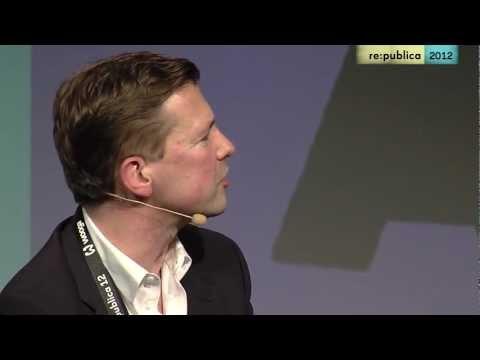 re:publica 2012 - Steffen Seibert - Social Media Nutzung der Bundesregierung on YouTube