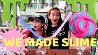 HOW TO MAKE THE BEST SLIME? XIA VIGOR TAUGHT ME HOW TO MAKE FLUFFY SLIME! | YESHA C. 🦄