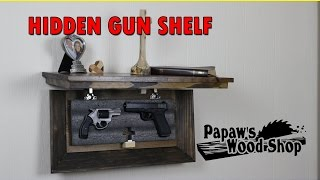 Another hidden firearms storage item from Papaw