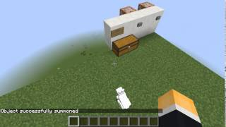 How to summon Killer Rabbit of Caerbannog in Minecraft