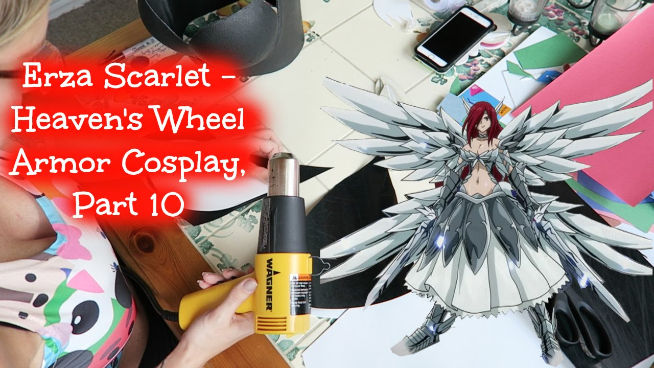 Erza Scarlet Heaven S Wheel Armor Cosplay Part 10 Youtube
