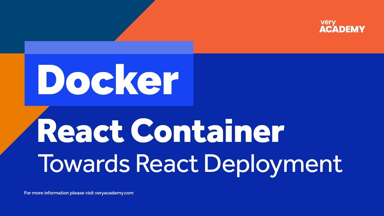 Docker | How to Dockerize a React Application (Beginners Guide)