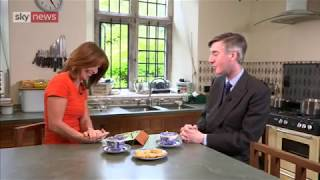 Jacob Rees-Mogg interviewed by Kay Burley for Sky News.