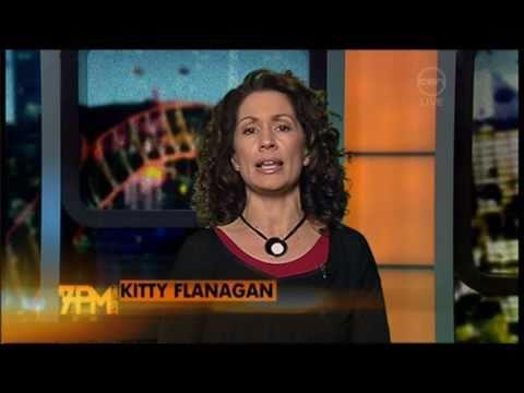 Kitty Flanagan talks Oprah in Australia - The 7pm Project
