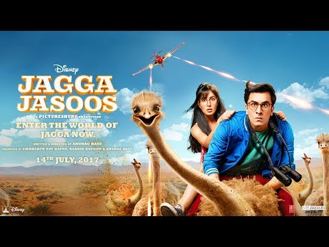 Jagga Jasoos | The Official Trailer | In Cinemas July 14, 2017