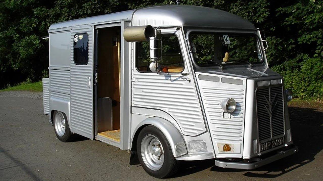 1970 Citroen Hy Camper Van Build Project