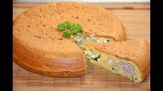 Пирог из Рыбной Консервы в Мультиварке Скороварке Redmond