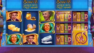 WILLY WONKA: THE SECRET INGREDIENTS Video Slot Casino Game with a PICK BONUS