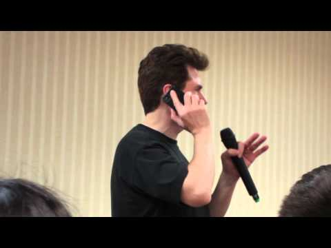 Quinton Flynn RAIDEN Prank Calls David Hayter SNAKE at Anime Festival Wichita AFW