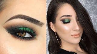 Green Smokey Cat Eye | St. Patrick's Day Makeup Tutorial