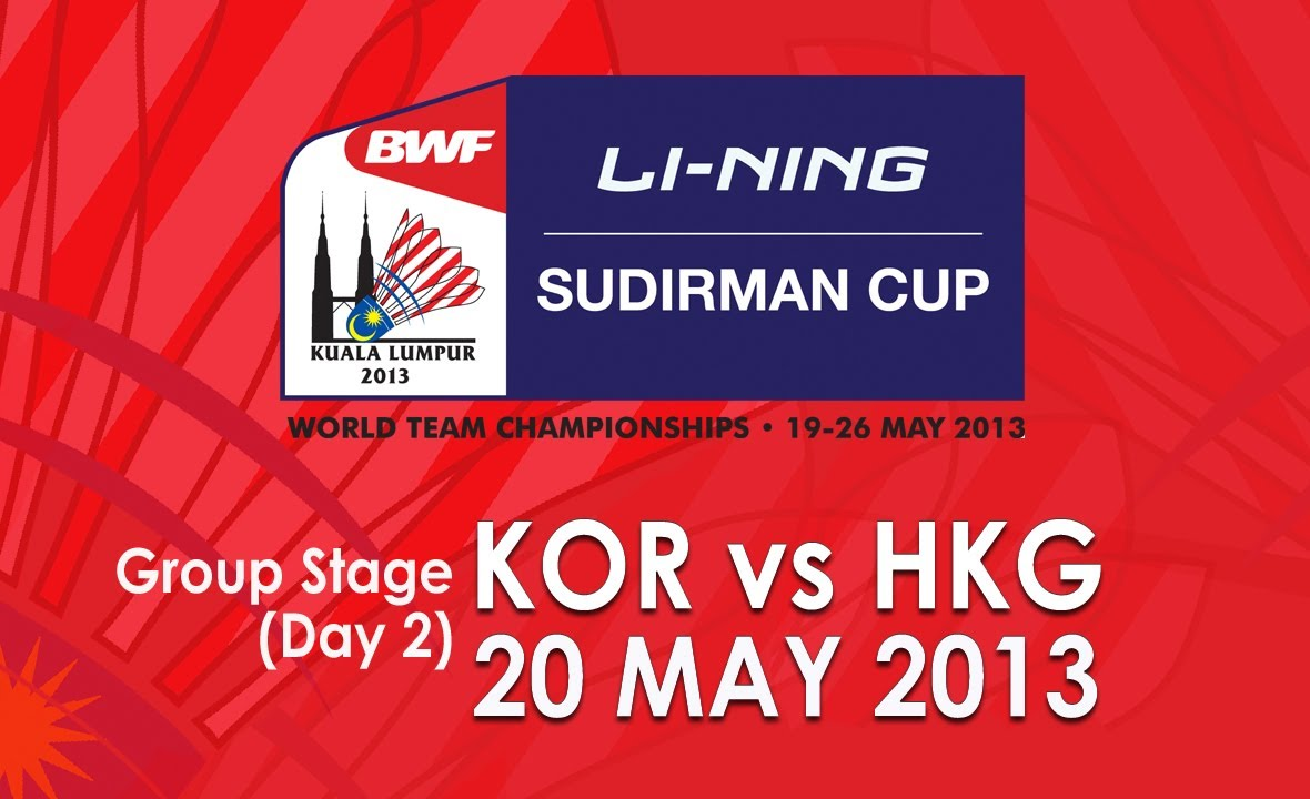 Group Stage MS Lee Dong Keun vs Wong Wing Ki 2013 Sudirman