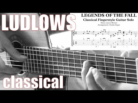 The Ludlows [TABS] Tutorial Fingerstyle Guitar Lesson #3