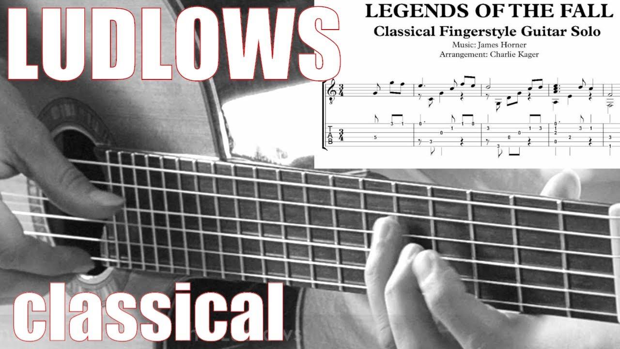 The Ludlows Classical Guitar Tutorial Tab Score Pdf