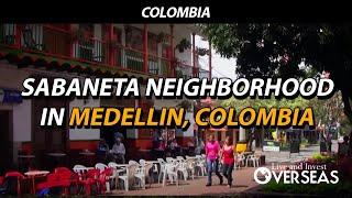 Sabaneta Neighborhood In Medellin Colombia