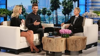 'DWTS' Partners Nick the Bachelor & Peta Catch Up with Ellen