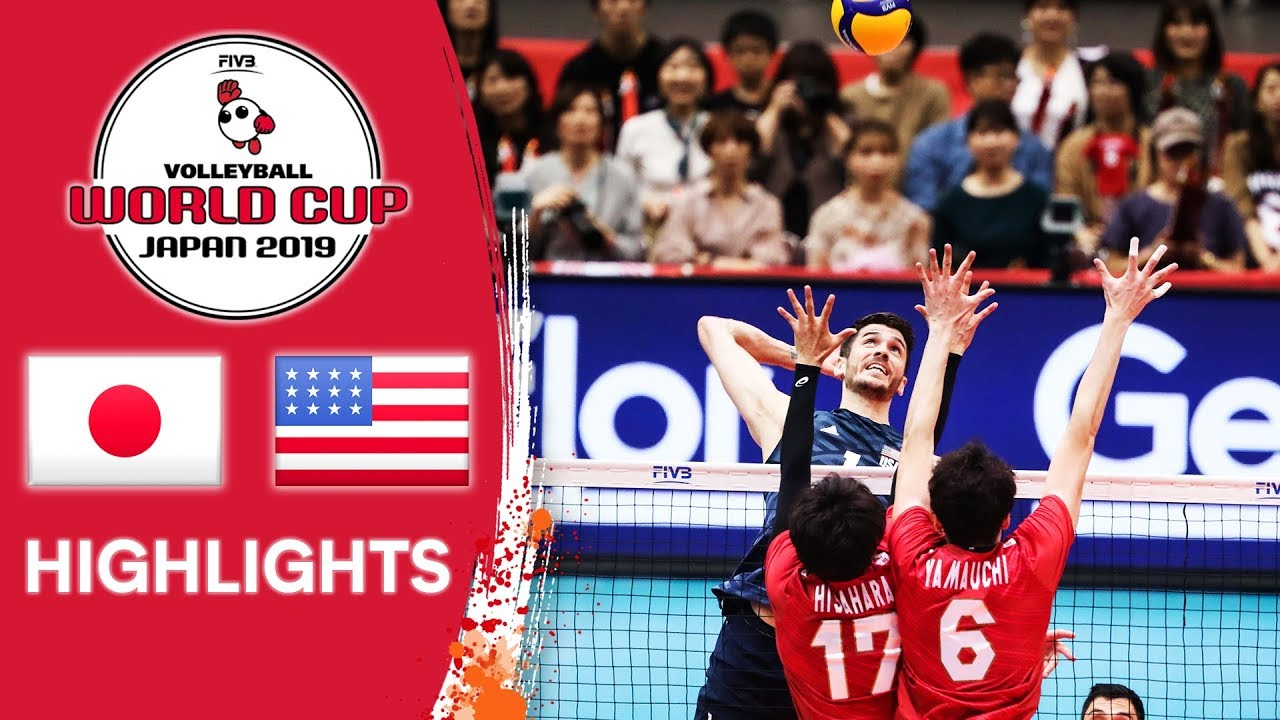 Download JAPAN vs. USA - Highlights | Men's Volleyball World Cup 2019