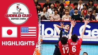 JAPAN vs. USA - Highlights | Men's Volleyball World Cup 2019