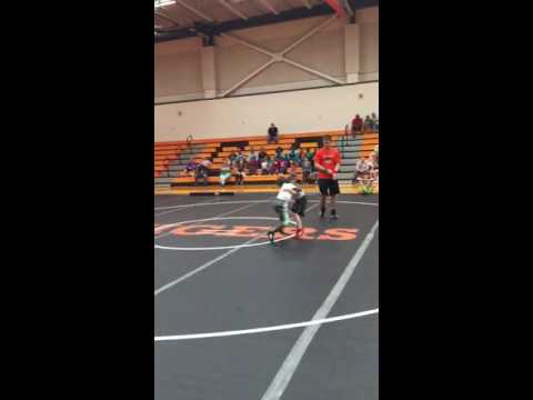 "Must See!!! 8 year old wrestler Cameron ""Pittbull"" Pitts"