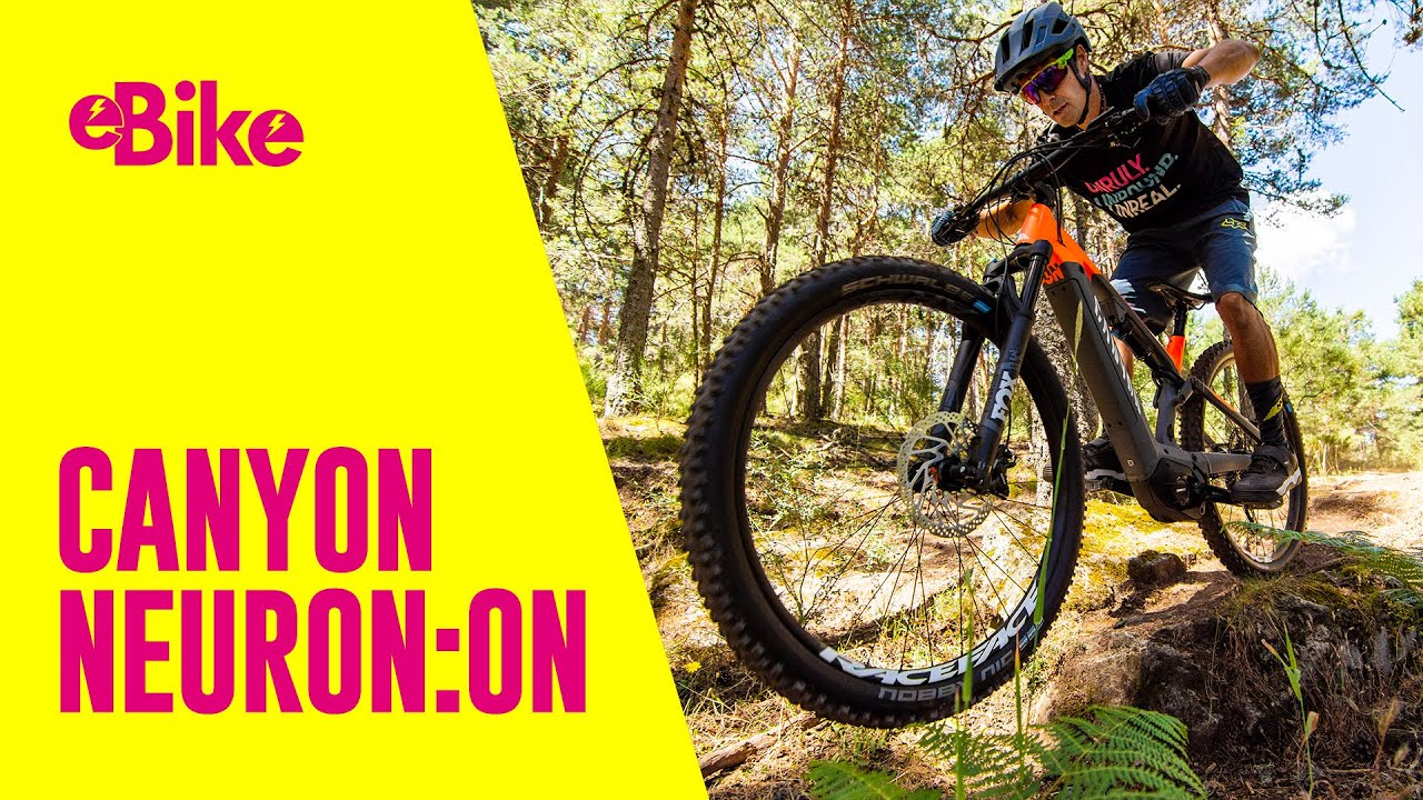 BIKE Pruebas: Canyon Neuron:On