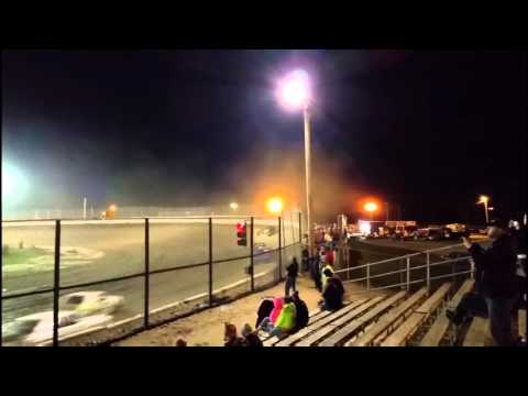 9-25-15 Jim Beasley Sport Compact Kankakee Speedway Track Cam Feature
