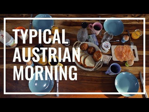 A typical Austrian Weekend Morning   What to do in Austria
