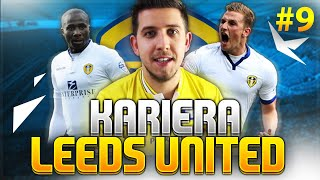 Leeds United - Kariera Managera #9 | CO ZA PECH! CROSSBAR CHALLENGE?! - FIFA 16
