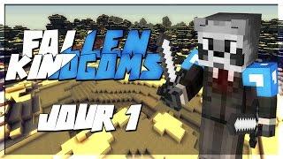 FALLEN KINGDOMS AVEC MODS IV : LE DUEL ! | JOUR 1- Minecraft FK Moddé thumbnail