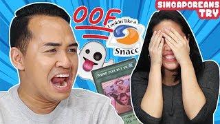 Singaporeans Try: Gen Z Slangs