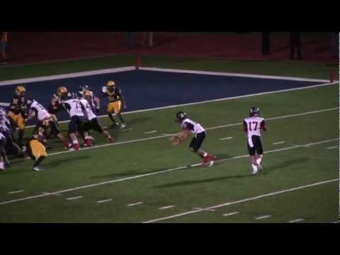 Kyler Murray TD & Shane Tripucka 2 pt Conversion Pass 11-2-2012