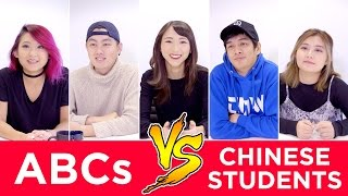 ABCs VS Chinese Students: ASIAN DATING HABITS | 美國華裔VS留學生的愛情觀