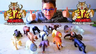 THE EPIC ANIMALS ANIMALI SELVAGGI - Leo Toys