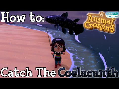 How To: Catch The Coelacanth In Animal Crossing New Horizons
