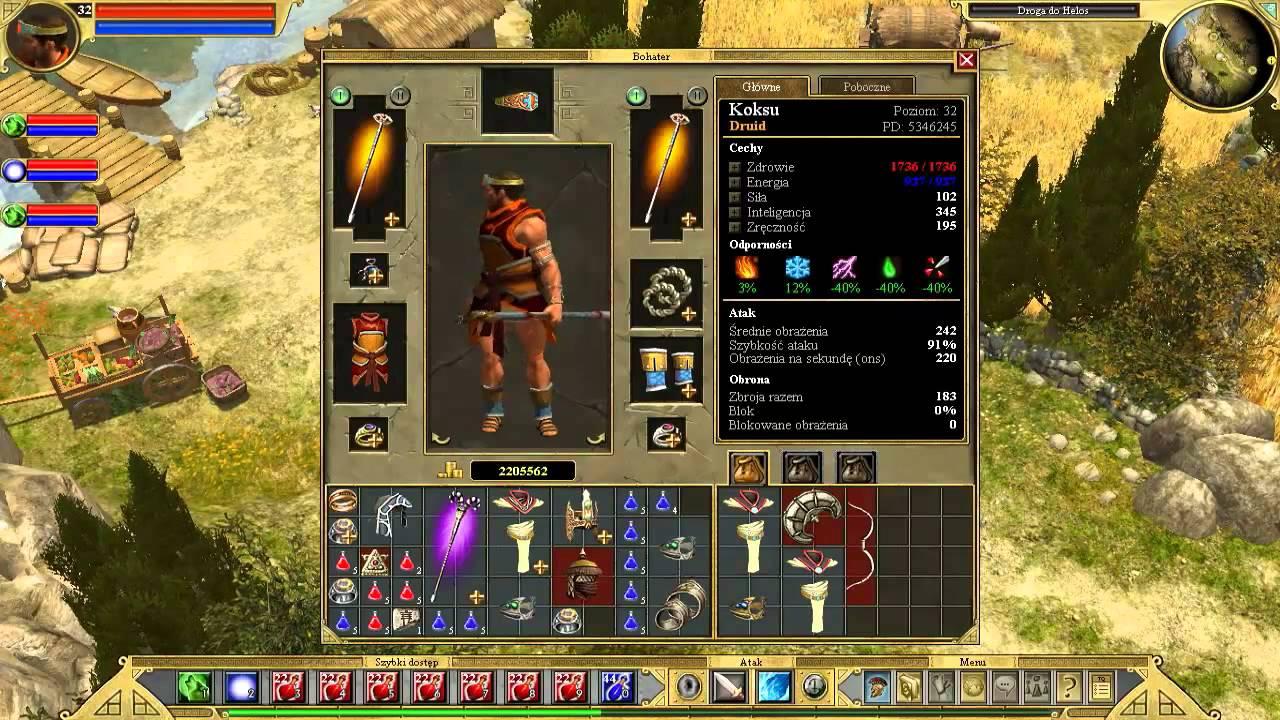 Titan Quest Druid Build