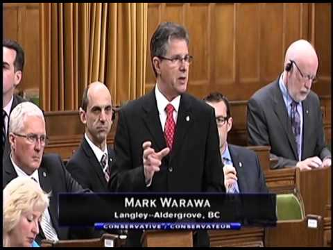 MP Mark Warawa replies to the Speech from the Throne