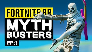 Fortnite MythBusters | Episode 1 (Chapter 2 Season 1)