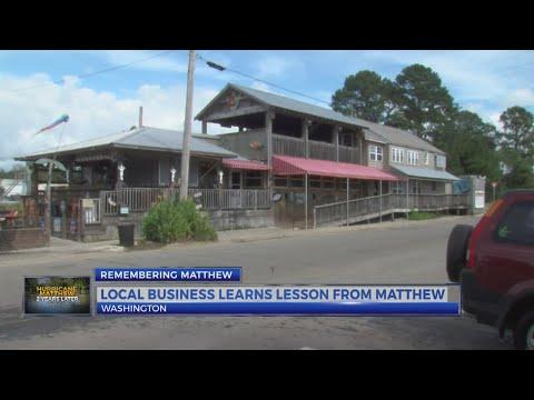 Two years later: Washington business remembers Matthew